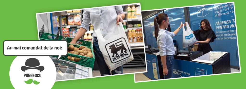 pungi biodegradabile promotionale
